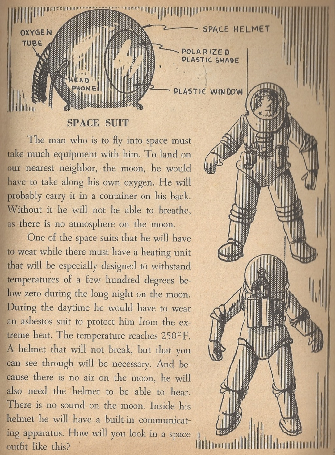 Go to the moon! Vintage space books for future astronauts ...