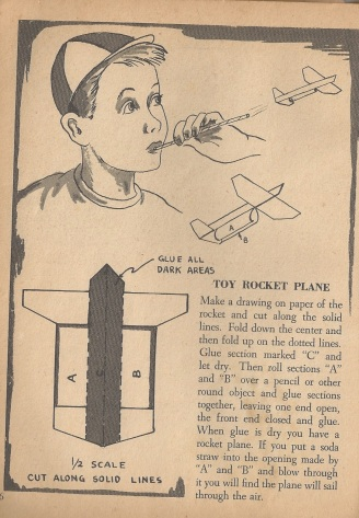 toy rocket plane