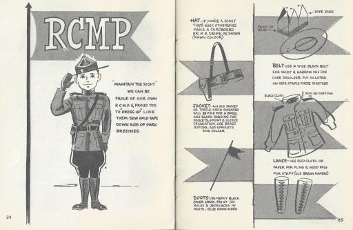 RCMP costume