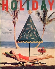 Vintage Holiday Mag Cover